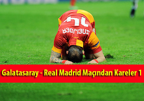 Galatasaray - Real Madrid Maçından Kareler 1