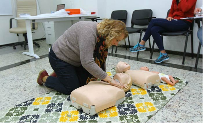 Kartal Belediyesi Personeline İlkyardım Eğitimi