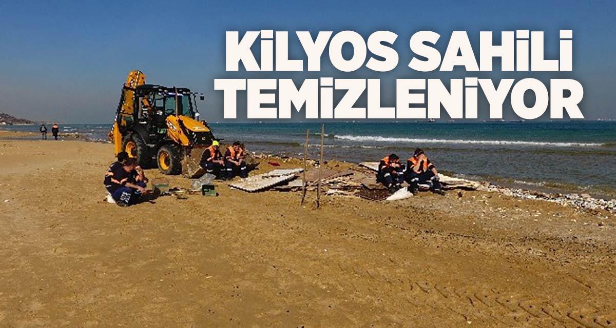 Kilyos sahili temizleniyor…