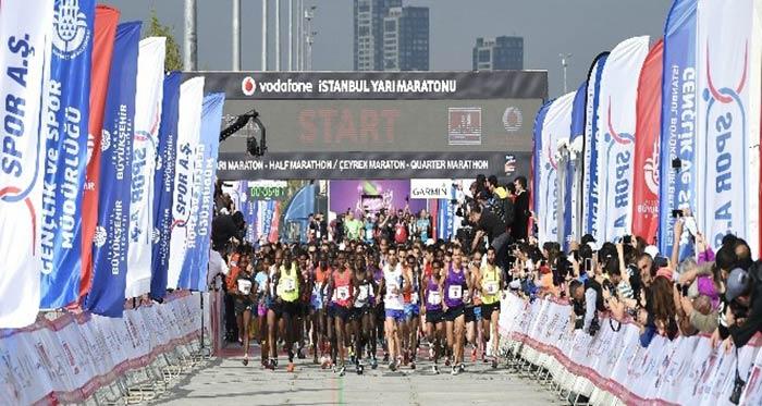 Vodafone İstanbul Yarı Maratonu kayıtları sona yaklaştı