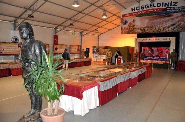 Kartal'da Çanakkale Savaş Müzesi açıldı