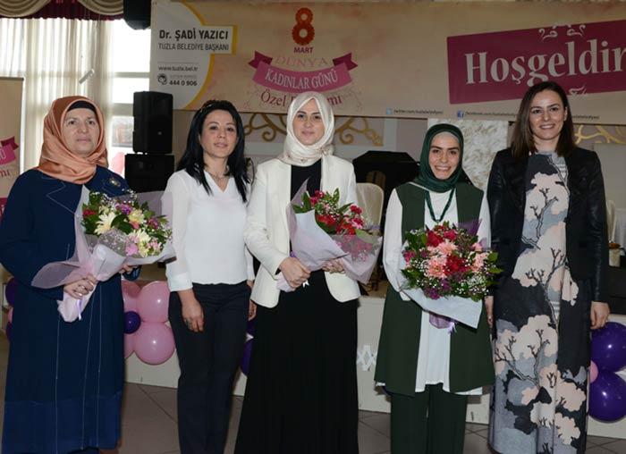 Tuzla Belediyesi'nden kadınlara özel kutlama programı