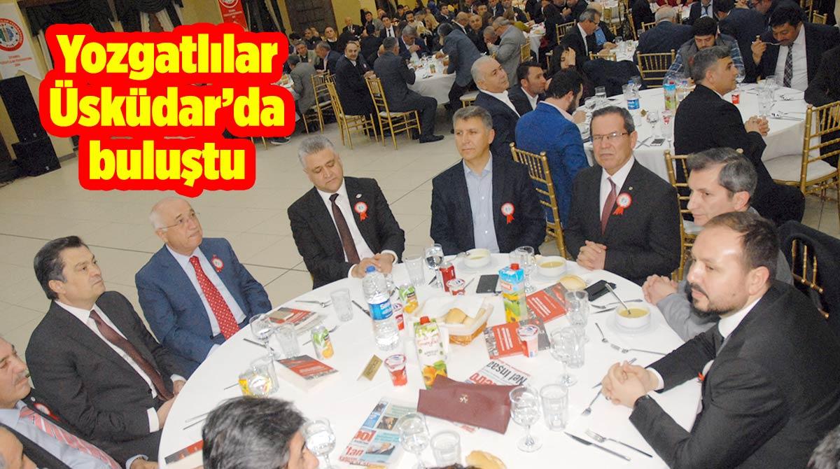 Yozgatlılar Üsküdar'da buluştu