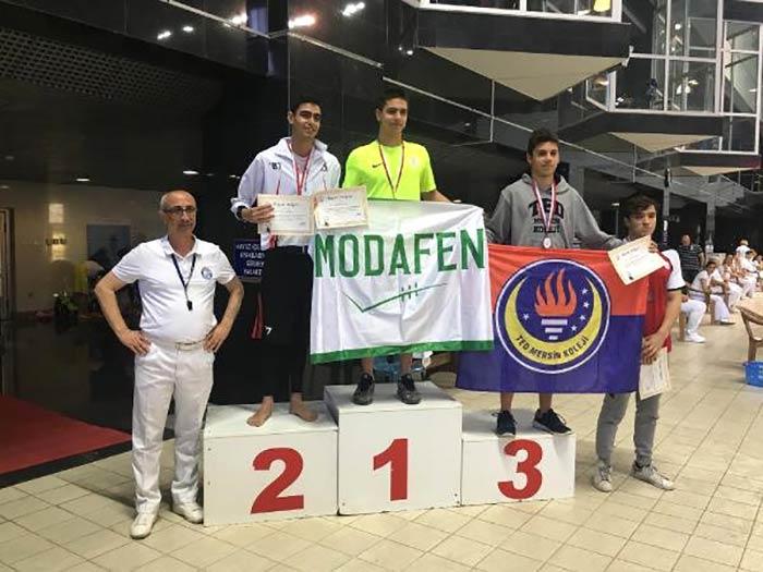 Okullar arası Türkiye Yüzme Şampiyonası sona erdi