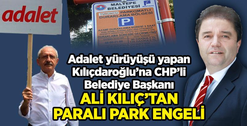 Kılıçdaroğlu'na Maltepe'de Park Engeli...