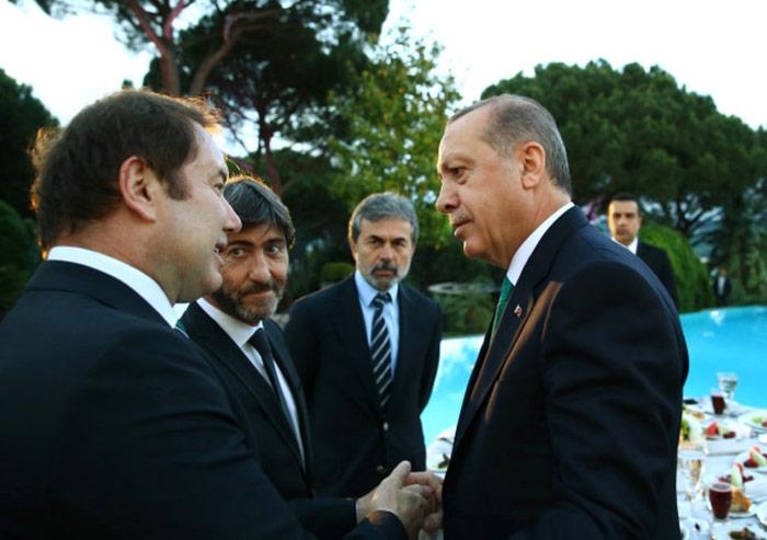 Erdoğan'ın iftar programında Galatasaraylı ve Trabzonsporlularyer almadı