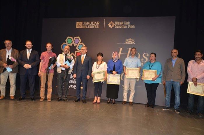 7 Tepe 7 Sanat Yarışması'nda dereceye girenler ödüllendirildi
