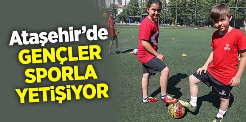 Ataşehir'de Gençler Sporla Yetişiyor