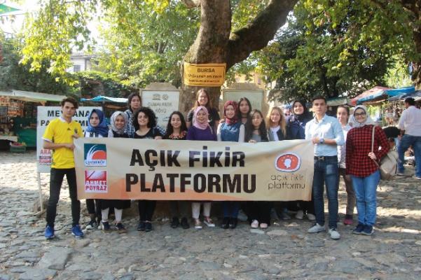 AÇIK FİKİR PLATFORMU BURSA'DA