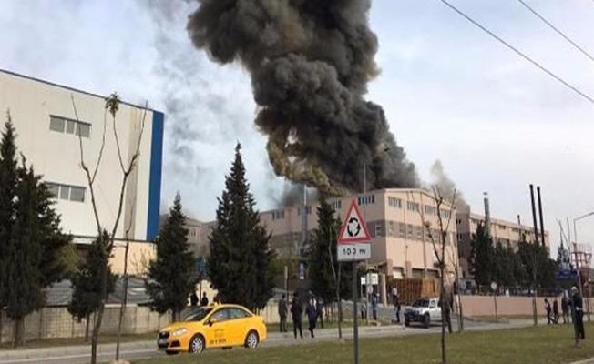 Adana'da fabrikada patlama