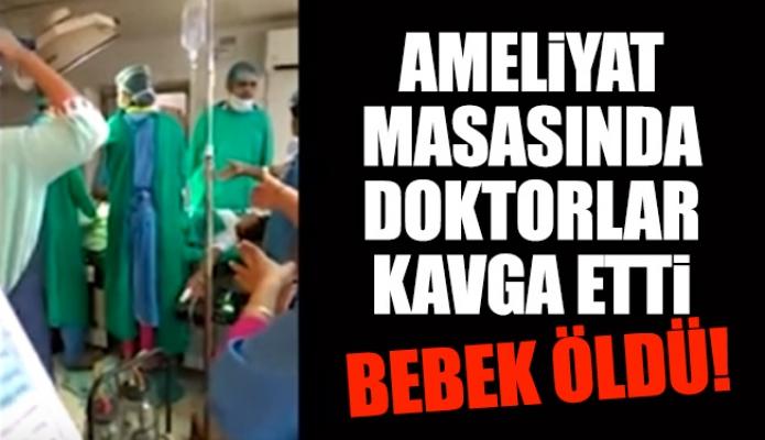Ameliyat Masasında Doktorlar Kavga Etti