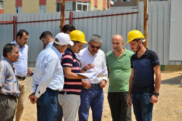 Belediyeden Kavakpınar'a dört katlı Cemevi