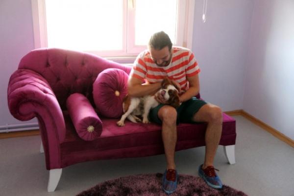 Çekmeköy'de sahibi tatile çıkanköpekler için özel otel