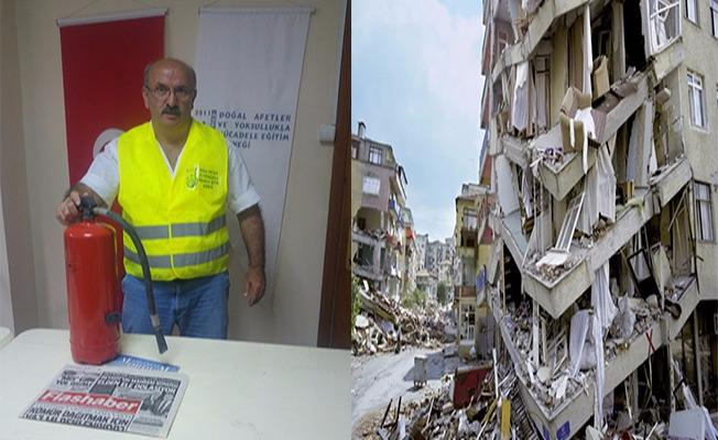 DAYMED Başkanı, deprem yıldönümünde konuştu