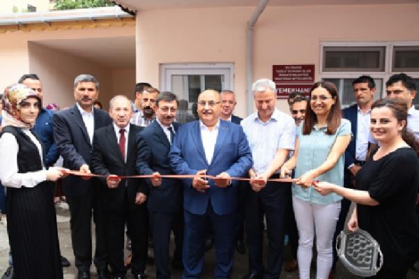 Erenköy Ruh ve Sinir Hastalıkları Hastanesi'nin yenilenen yemekhanesi açıldı