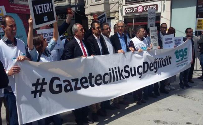 İstanbul'da gazetecilere  gözaltı kararı