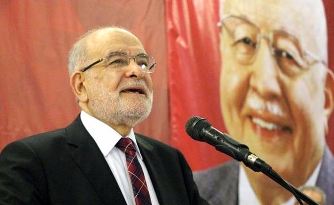 Saadet Partisi  'çatı aday' önerdi