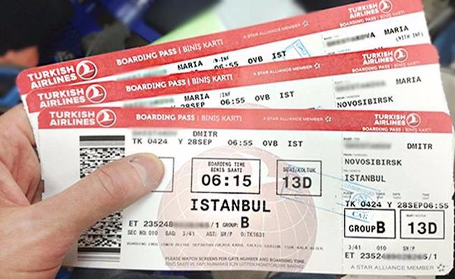 Uçak biletinizi paylaşmayın!