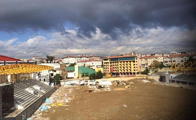 Üsküdar Burhan Felek'te bir skandal yaşanıyor  Atletizm tesisi 4 yıldır tamamlanamıyor!