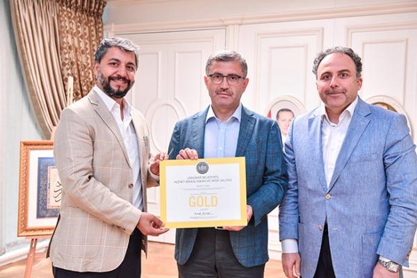 """Üsküdar Belediyesi """"Yeşil Bina"""" Sertifikası Almaya Hak Kazandı"""