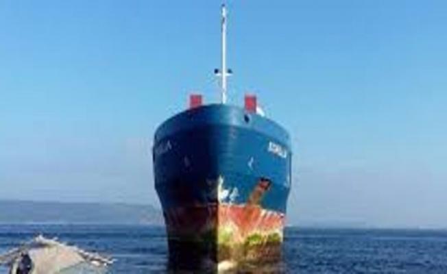 Yük gemisi ikiye ayrıldı