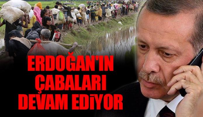 Erdoğan'ın çabaları devam ediyor