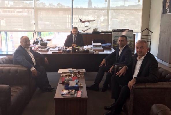 Hasan Can'dan İBB Genel Sekreter Yardımcılarına ziyaret