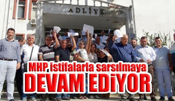 MHP istifalarla sarsılmaya devam ediyor: Bu sefer 270 kişi!