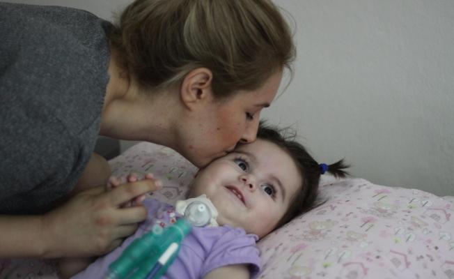 SMA hastası minik Duru'ya ilaç onayı çıktı