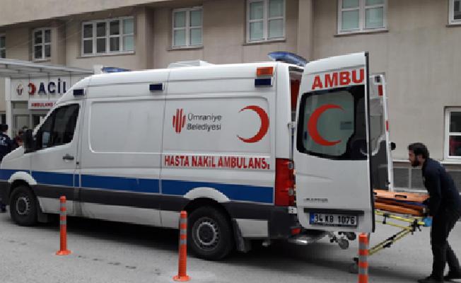 Ümraniye Belediyesi'nden ücretsiz Hasta Nakil Ambulansı hizmeti
