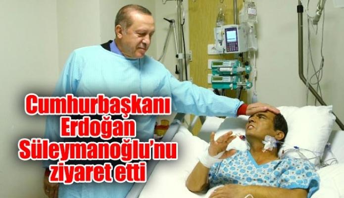 Cumhurbaşkanı Erdoğan Süleymanoğlu'nu ziyaret etti