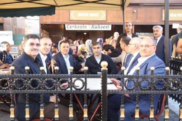 Hasan Can Sivas Günleri etkinliklerine katıldı