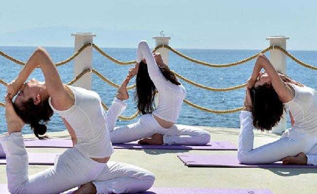 Şile'de Yoga Festivali yapıldı