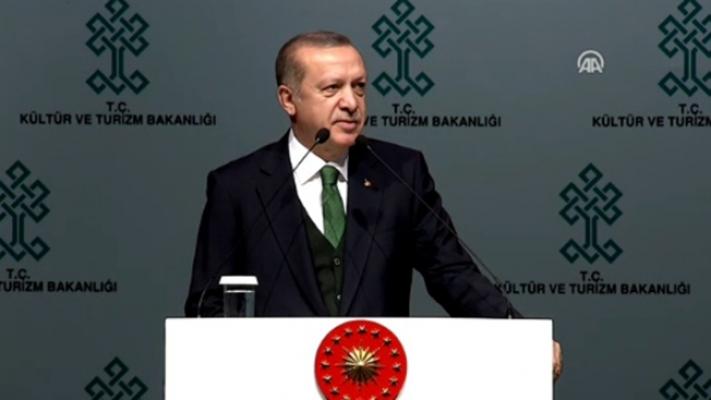 C.Başkanı Erdoğan yeni AKM projesini açıkladı