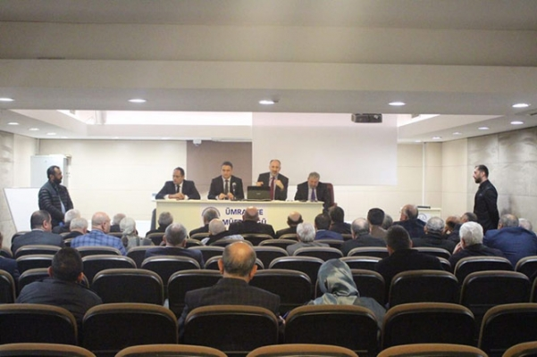 Mahalle Muhtarları Toplantısı Ümraniye'de yapıldı