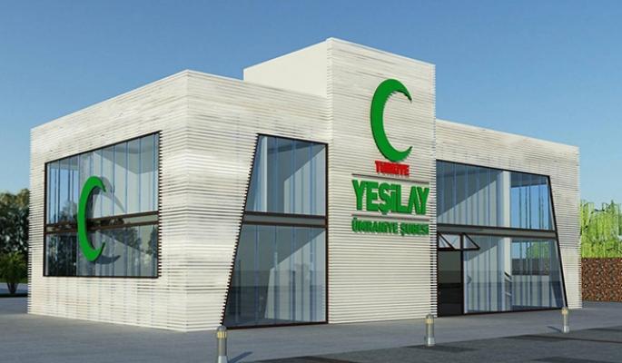 Yeşilay Danışmanlık Merkezi binasının hafriyat çalışmalarına başlandı