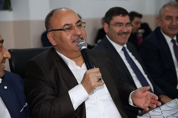 Hasan Can, Musalıköyü Derneği'nde vatandaşlarla buluştu
