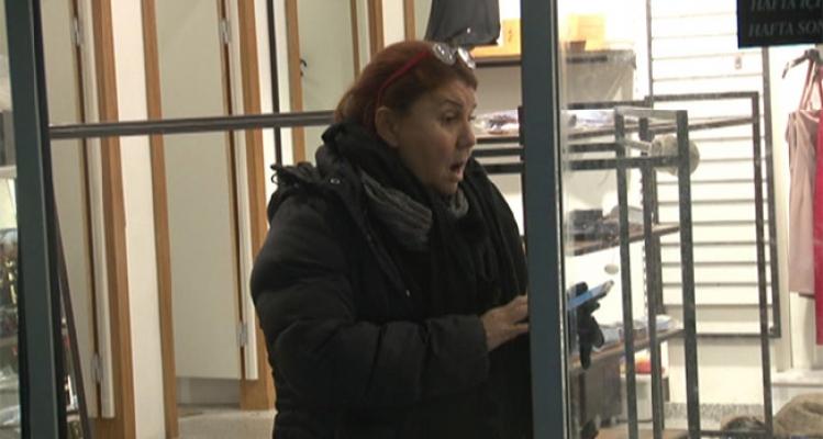 Ümraniye'de giyim mağazasında soygun
