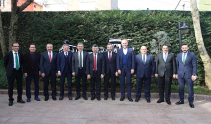 Anadolu Yakası Belediye Başkanları Sultanbeyli'de buluştu