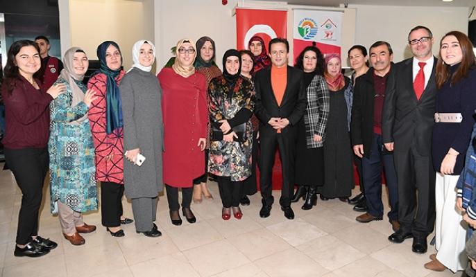 Başkan Yazıcı ve Eşi, Kıbrıs Gazileri ve aileleriyle buluştu