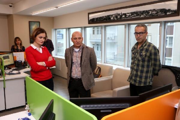 CHP İstanbul İl Başkanı Canan Kaftancıoğlu'ndan Başkan Altınok Öz'e Ziyaret