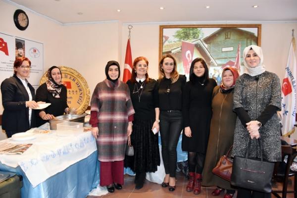 Dr. Fatma Yazıcı, Tuzla Rumelililer Derneği'ni ziyaret etti