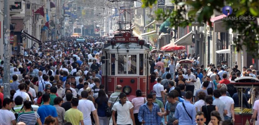İSTANBUL NÜFUSUYLA 129 ÜLKEYİ GERİDE BIRAKTI
