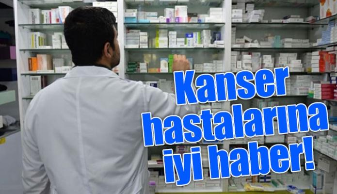 Kanser hastalarına iyi haber !