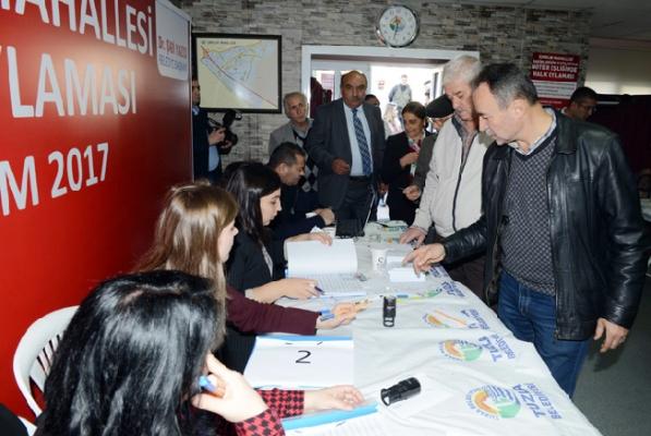 Tuzla Belediyesi, İçmeler Mahallesi sakinlerinin kararını uyguladı