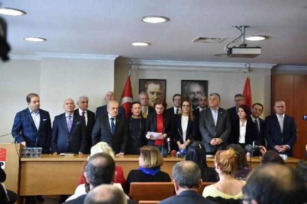 CHP İstanbul İl Başkanlığı'nın 'Kadın Hakları' Konulu Basın Toplantısı