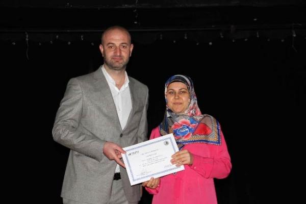 """""""Kadın Sağlığı Eğitimi"""" Sertifika Töreni Gerçekleştirildi"""