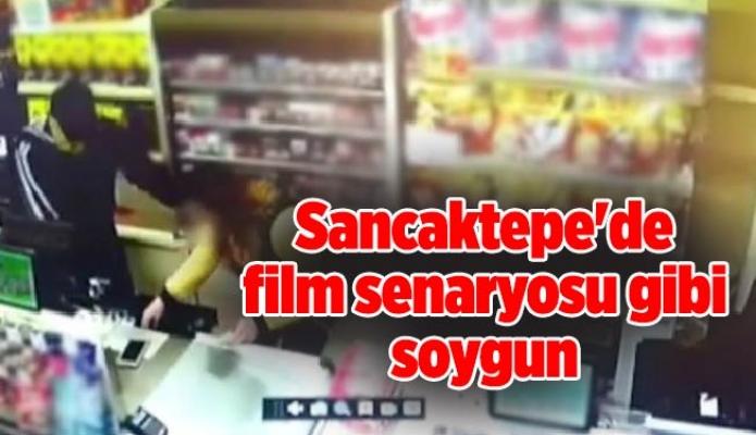 Sancaktepe'de film senaryosu gibi soygun