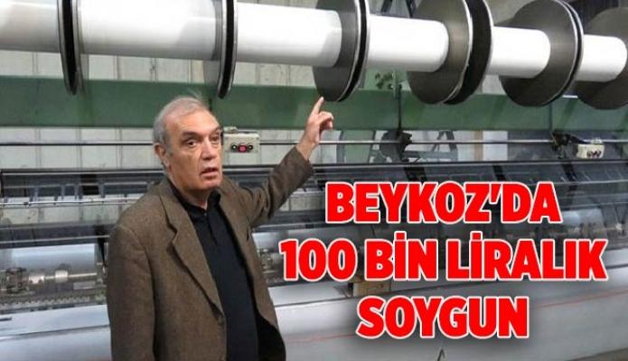 Beykoz'da 100 bin liralık soygun