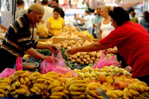 Enflasyon Mart'ta yüzde 0,99 arttı